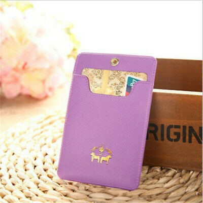 Ultra-thin Lovely Girl South Korean Style Bus Pass Bank ID Card Holder 8C