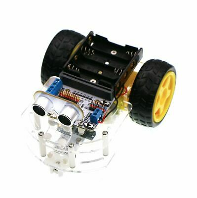 Motor:bit acrylic smart car kit (without micro:bit board)