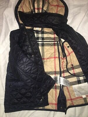 Kids Boys Childrens Burberry Quilted Jacket It S 4t And I