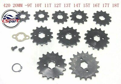 420 15TOOTH 17MM Front Sprocket Fits 50cc-110cc Dirt Pit