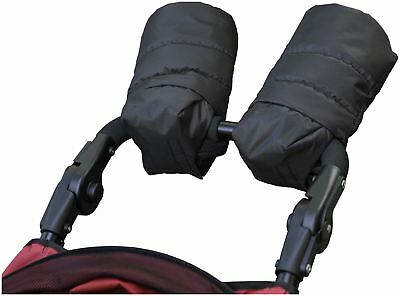 Outnabout OUT'N'ABOUT HAND MUFFS - BLACK Pushchair Pram Accessory - BN