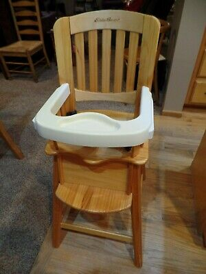 Eddie Bauer Wooden High Chair Replacement Seat Pad Cover Highchair