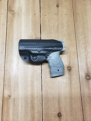 Concealment Black Carbon Fiber Walther PPS M2 9mm/.40 IWB Kydex Holster Right