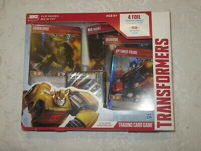 Hasbro Transformers TCG Trading Card Game 2 Player Starter Set Deck