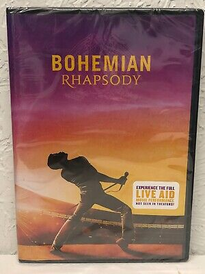 Bohemian Rhapsody DVD 2019 Brand New 100% Authentic!! Beware of Cheap Fakes Sold