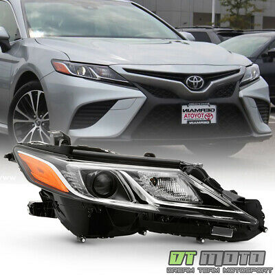 For 2018-2019 Toyota Camry L LE LED Projector Headlight Headlamp Passenger Side