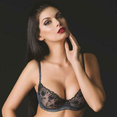 3d376a4c08 SHEER LACE DEMI Cup Bra New Vova Lingerie Mystery Night -  35.00 ...