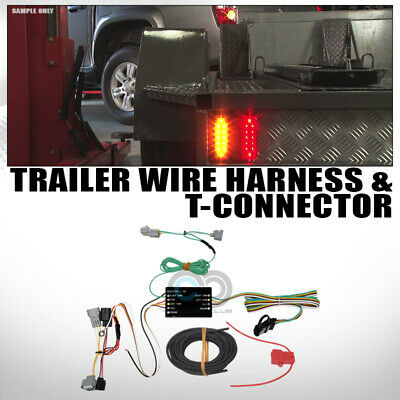 fit 16-19 toyota tacoma trailer tow hitch 4-way output custom wiring t