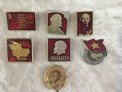 Russian Badges - Age Unknown
