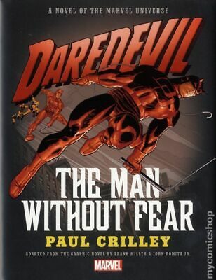Daredevil The Man without Fear HC (A Novel of the Marvel Universe) #1-1ST NM