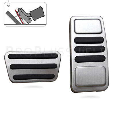 Sport Pedal Cover For Ford Mustang 2015-19 Gas Accelerator Brake Pad Accessory