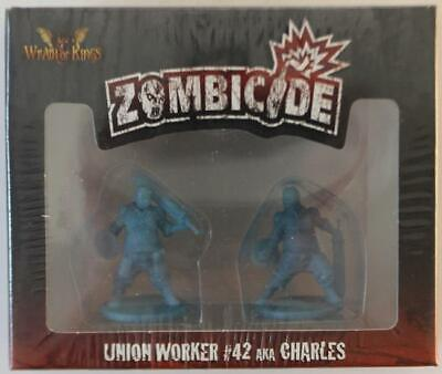 CoolMiniOrNot Boardgame Promo Figure - Union Worker #42 (Charles) Pack NM
