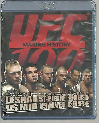 UFC 100 Blu-ray Disc Sealed 2009 Brand New Free & Fast SnH with Tracking L@@K !