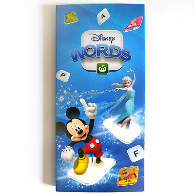 Woolworths Disney Words Collector Folder Tile Case with FREE Post