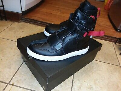 wholesale dealer 1fa69 d5eb5 BRAND NEW AIR Jordan 1 Moto Black Gym Red AT3146-001 Mens Size 11 with box