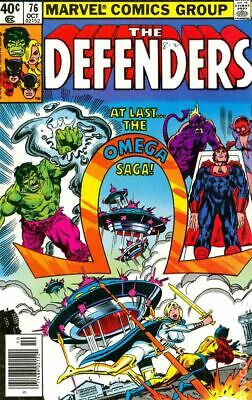 Defenders (1st Series) #76 1979 VG Stock Image Low Grade