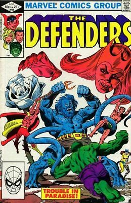 Defenders (1st Series) #108 1982 FN Stock Image
