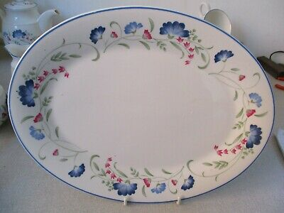 Royal Doulton Windermere Oval Plate 35 Cm VGC