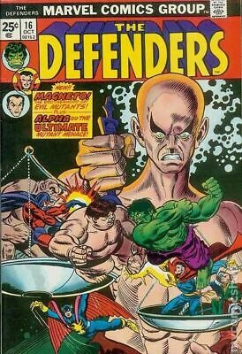 Defenders (1st Series) #16 1974 VG+ 4.5 Stock Image Low Grade