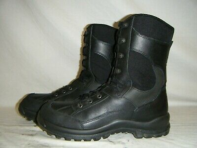 German Austrian Army Military Police Issue Assault Combat Leather Boots Size 9 *