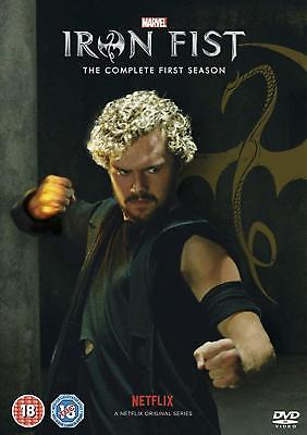 Marvels Iron Fist Season 1 - Region 2 UK - new and sealed - postage free