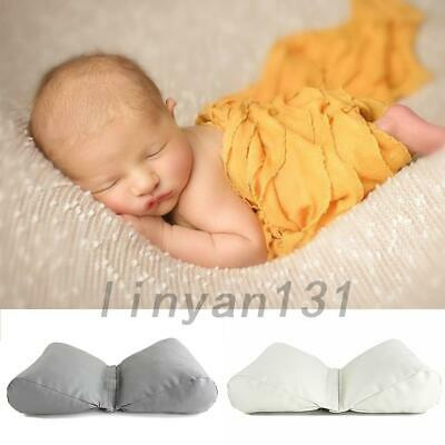 Newborn Infant Butterfly Posing Pillow Cushion Photography Photo Props Leather