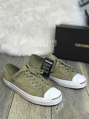 fe4d61424256 SNEAKERS MEN S CONVERSE Jack Purcell Pro Suede Deep Emerald Green ...