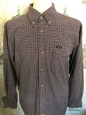 Vintage 1990s Lee checked shirt, retro western, oversized, plaid, indie, mod,