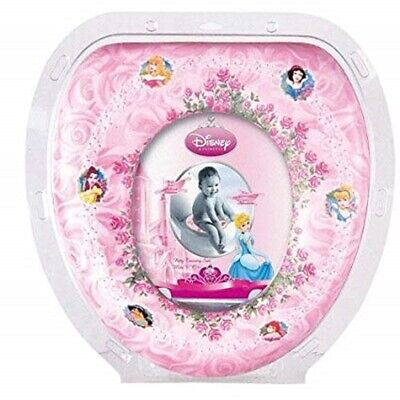 Disney Children PRINCESS PINK Baby Soft Padded Potty Training WC Toilet Seat