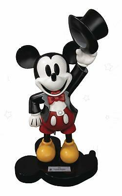 Mickey Mouse Master Craft Statue 1/4 Tuxedo Mickey 90Th Anniversary Nuova Cdm!!!