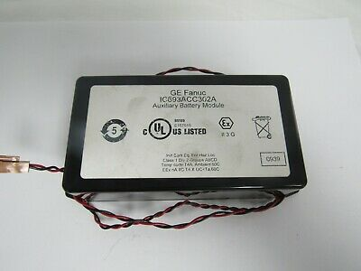 Ge Fanuc Ic693Acc302A Auxiliary Battery Module