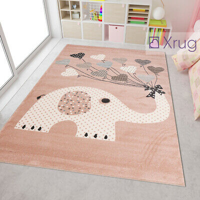 Elephant Nursery Rug Modern Kids Room