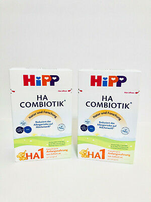 Hipp Ha 1 Combiotik Hypoallergenic Infant Formula Made in Germany 2 Boxes 500g