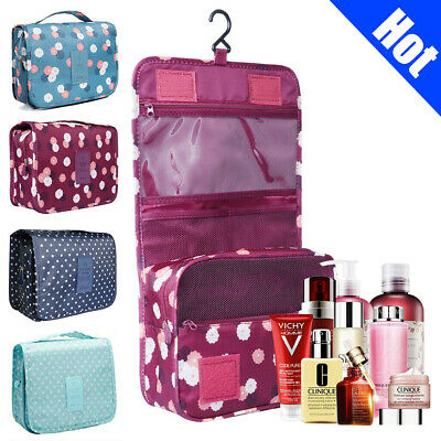 Hanging Toiletry Bag Travel Cosmetic Kit Large Essentials Organizer  Waterproof 7c79c1f41f82b