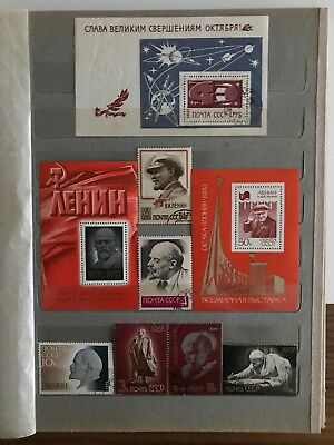 Cccp Usa Ddr Other Worldwide Block Of Stamps Mnh Mint Hinged