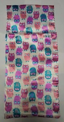 Owl Sleeping bag/attached pillow American Girl Our Generation Journey Girl doll