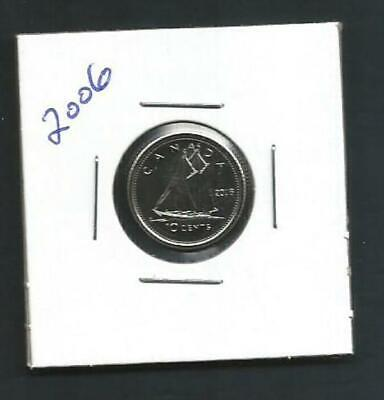 Canada - 10 Cents - 2006 - BU PL from set - Combined Shipping - NO TAX
