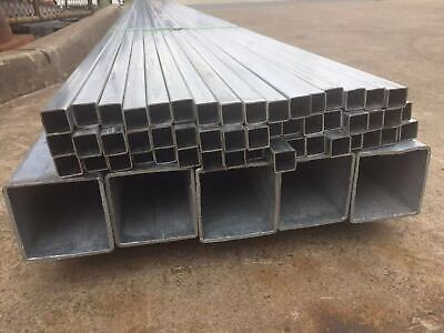Galvanized Steel Square Tube/ Pipe/Fence Post 100*100mm*6m*3mm, $110/each