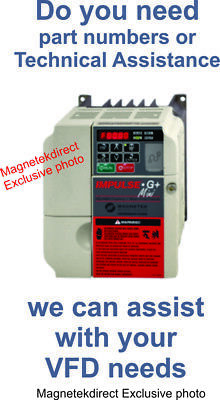 Magnetek impulse G+ Mini VFD - $5 Technical Assistance variable frequency drive