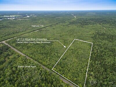 Vacant Land for Sale in New Brunswick, Canada - Recreation & WoodLand Investment
