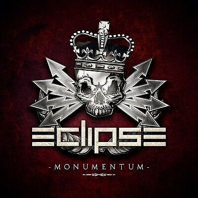 """ECLIPSE """"Monumentum"""" CD 2017 (Swedish Melodic Hard Rock) reckless love h.e.a.t"""