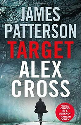 ✔ TARGET: ALEX CROSS by James Patterson (2018, Hardcover) NEW