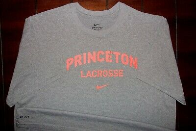 438b0ad5a2c0 Nike Princeton University Tigers Lacrosse Ivy League Dri-Fit T-Shirt XL -NEW