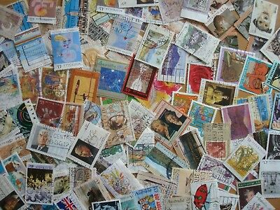 1990s - 100 x Mixed Used Australian Stamps - All different from the 1990s