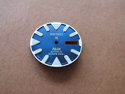 New BLACK PADI  X DIAL  made for SEIKO Diver 7S26-0020 Automatic
