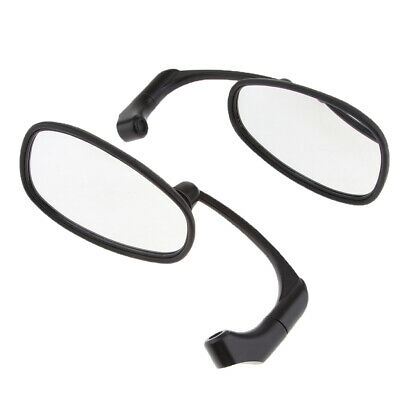 10mm Round Rear View Side Mirrors for Motorcycle Cruiser Chopper ATV
