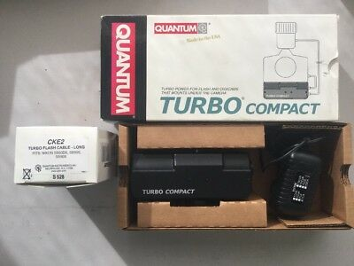 Quantum Turbo Compact Battery Pack + SB900 Cable