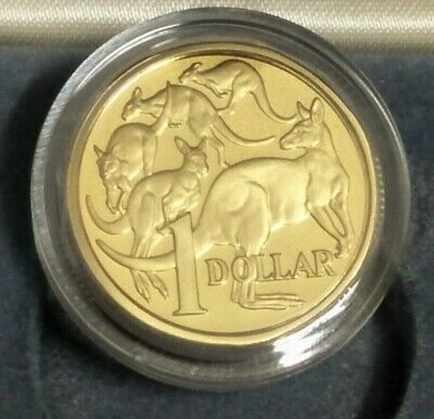 Australia 1984  FIRST YEAR OF ISSUE $1 PROOF COIN.