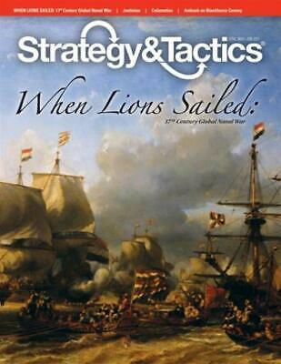 Decision Strategy & T #268 w/When Lions Sailed - 17th Century Global N Mag MINT