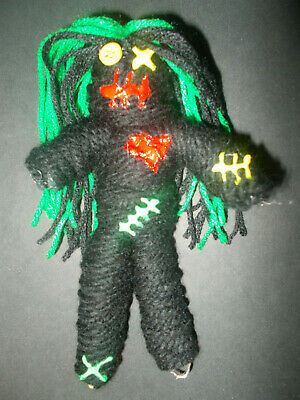 Authentic VooDoo Doll With 7 Colored Pins